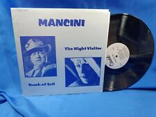 Touch of Evil/The Night Visitor Ost Lp Citadel Ct-6015 Rare