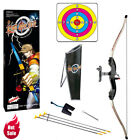 Bow and Arrow Archery Shooting Set Target Kids Toy Outdoor Indoor Fun Game Gift