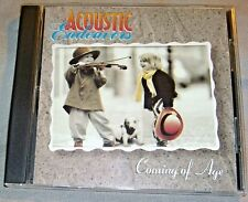ACOUSTIC ENDEAVORS Coming of Age 1994 1st Ed.album Common Folk CD 0001 NEAR MINT