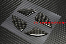 For Scion xB xD iQ xA Front Or Rear Emblem BLK Carbon Fiber Decal Insert Filler