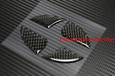 For Scion xB xD iQ xA Front Or Rear Logo Emblem Carbon Fiber Decal Insert Filler