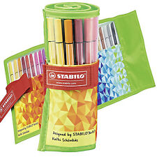 STABILO Pen 68 Punta Feltro in fibra penne colorate DIVERTIMENTO PER ADULTI EDIZIONE ROLLERSET 1mm