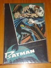 BATMAN spaventato CITY Adams HANEY TITAN Graphic Novel 9781852862695