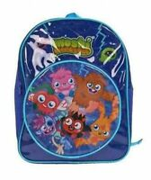 Moshi Monsters Pvc Front School Bag Rucksack Backpack Brand New Gift