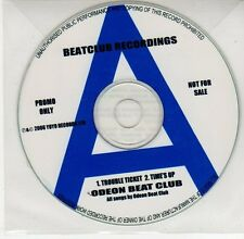 (EG457) Odeon Beat Club, Trouble Ticket / Time's Up - 2006 DJ CD