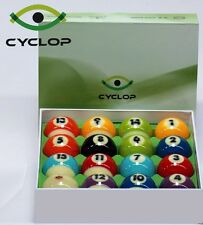 Cyclop Cyclops TV Edition Pool Ball Set Pool Billiards w/ FREE Shipping
