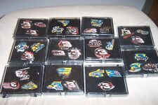 Collectable Nascar Full Set All 76 Dale Earnhardt Great Victories Pins W 3 Cases