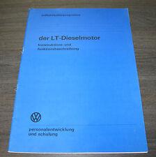 VW LT Diesel Motor SSP 12 Selbststudienprogramm  Stand 01/1976