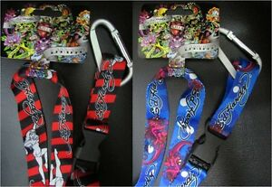 Ed Hardy Red Lanyards Use w/ Keys, Badges, Passes Etc. NEW