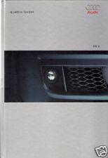 Audi RS6 2002-03 UK Market Hardback Sales Brochure Saloon & Avant A6