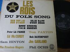 LP   LES ROIS DU FOLK SONG ( Bob Dylan, Joan Baez, Pete Seege.)