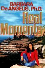 Real Moments, De Angelis, Barbara, Good Condition, Book