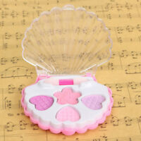 1 Set Kid Girl Gift DIY Funny Makeup Toy Cosmetics Eyeshadow Box Lipstick Rings