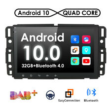 "8""Android 10 Car Radio Stereo GPS For GMC Chevrolet Yukon Sierra Acadia Suburban"