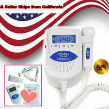 Sonoline B Fetal Heart Doppler /Backlight LCD 3mhz Probe+gel FDA ,2Y Warranty BP