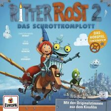 RITTER ROST - DAS HÖRSPIEL ZUM KINOFILM 2: DAS SCHROTTKOMPLOTT   CD NEU