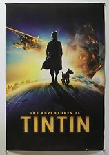 "ADVENTURES OF TINTIN - 2011 ENGLISH COMMERCIAL POSTER 24X36"" (HERGE - SNOWY) -V"