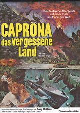 DOUG MCCLURE - THE LAND THAT TIME FORGOT * RARE GERMAN POSTER! caprona