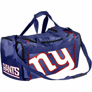 NY New York Giants Duffle Bag Gym Swimming Carry On Travel Luggage Tote NEW