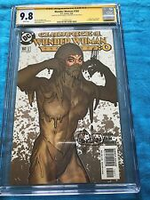 Wonder Woman #160 - DC - CGC SS 9.8 - Signed by Adam Hughes, Dan Panosian