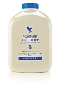 Forever Living Forever Freedom Orange Aloe Vera Juice 33.8 FL. OZ Free Shipping