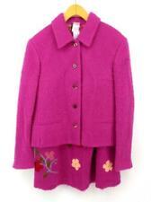 OILILY Pink 2pc Skirt & Jacket Suit Set Mohair Elle Woods Umbridge Costume Sz S