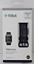 Genuine Fitbit Ionic Accessory Sport Band, Black/Gray SIZE SMALL