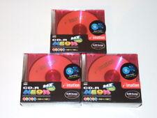 30 Coloured Blank CD-R 24X 80MIN Discs NEON - In Jewel Cases