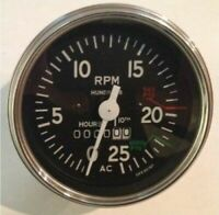 Speedometer Tachometer For Allis Chalmers ACSP01 With Chrome Bezel