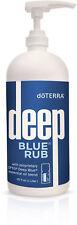 Large Bottle Pure Theaputic Grade Essential  doTERRA Deep Blue Rub 32 oz