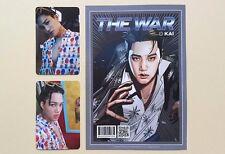 EXO 4th Album The War Official Photocard Photocard - Kai Set ( 3 pcs)