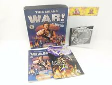 This Means War! Big Box PC Game Original Release RTS Strategy Apocalyptic
