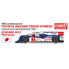 Studio27 FD43026 1:43 TOYOTA TS030 WEC 2013 Fuji Qualify Multimedia Kit
