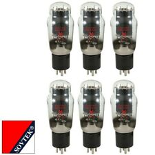 Plate Current Matched Sextet (6) Sovtek 2A3 Triode Power Vacuum Tubes