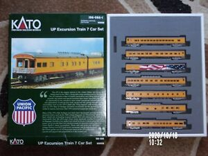 N Scale UP Passenger Cars
