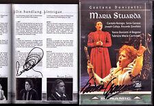 DVD Joseph CALLEJA & Sonia GANASSI Signiert DONIZETTI MARIA STUARDA Remigio 2002
