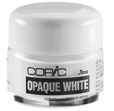 COPIC OPAQUE WHITE PIGMENT - FOR HIGHLIGHTING AND EFFECTS