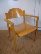 60er 70er  Schreibtisch Stuhl Chair Armlehnstuhl Mid Century im Eiermann Stil