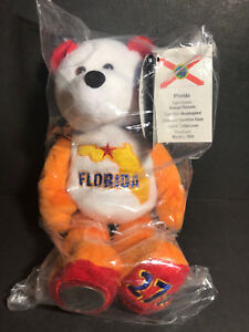NEW Limited Treasures FLORIDA State Quarter Coin Bear w/Tags RETIRED 2004 L@@K