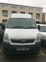 Vauxhall Movano 2.5 CDTI engine size not running spare or repair