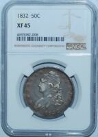 1832 NGC XF45 Capped Bust Half Dollar