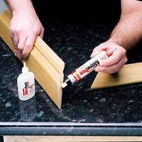 Unika Mitre Bond Superglue 50g & Activator Pen, Super Glue Bonding Kit