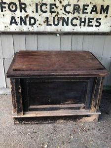antique store counter vintage mercantile industrial pulpit podium haberdashery