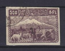 "ARMENIA 1922, Mi 145 BI, 2k/500, USED, ""ALEXANDROPOL"" CANCEL"