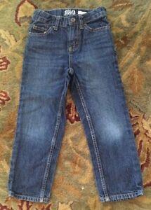 Sz 5 Slim Boy's Oshkosh Jeans Inside Adjustable Waistband