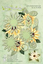 Leane Creatief cutting and embossing die set - flower 006 - 8 die set