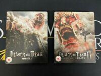 Attack on Titan Steelbook Bundle Part II I 1 2 Bluray