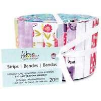 "Fabric Palette Jellies 2.5""X42"" 20/Pkg Pookie Luna  699919203864"