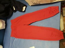 baseball softball T-ball pants gray sports elastic waist lot of 35 color red