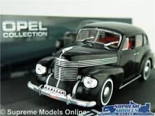 OPEL Kapitan 38 Model Car 1 43 Scale Black IXO Collection 1938-1940 K8